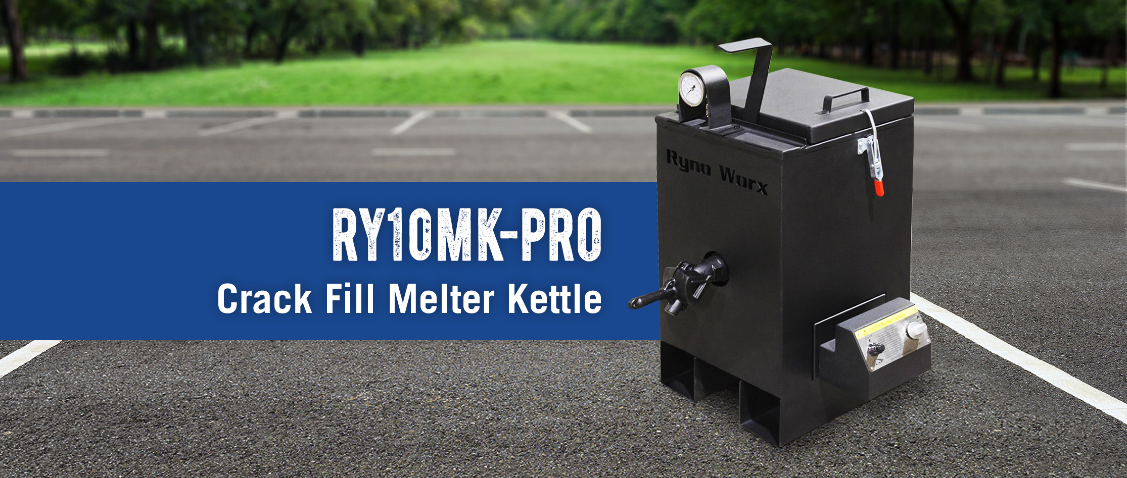 RY10 Crack Fill Melter Kettle