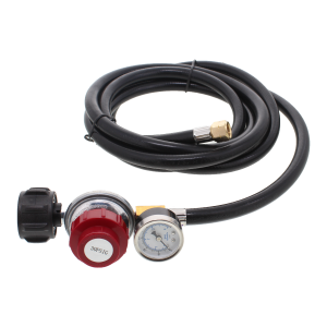 Regulator and Hose - 0 - 30 Psi with Pressure Gauge (3 m)