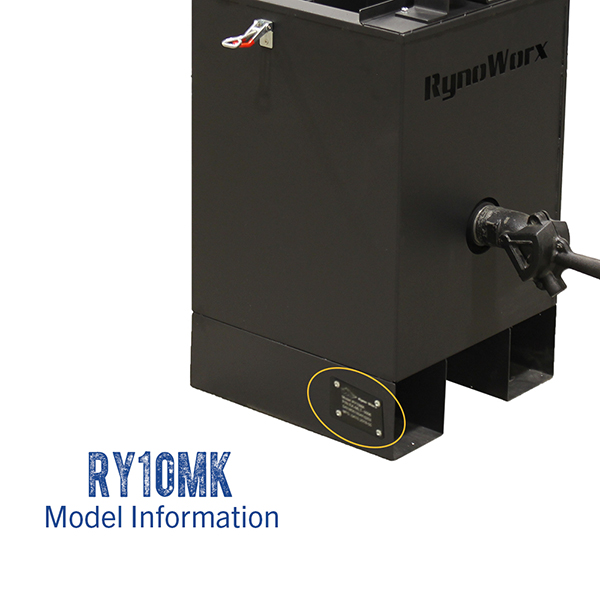 RynoWorx RY10MK model number.