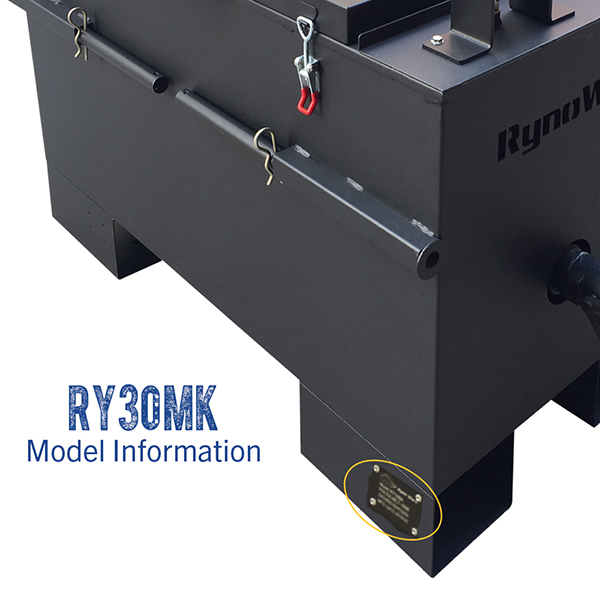 RynoWorx RY30MK model number.