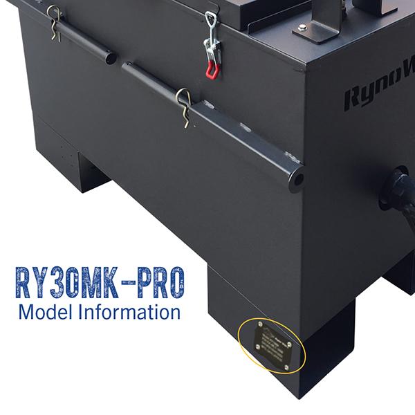 RynoWorx RY30MK-PRO model number.